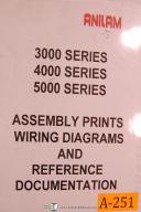 Anilam 3200MK, 3300MK, 3 4 & 5000, Assy Prints - Wiring & Reference Manual
